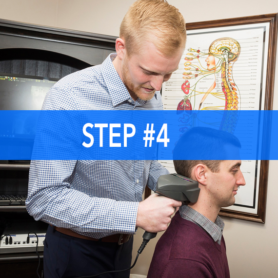 chiropractic assessment at Thrive Family Chiropractic in Urbandale