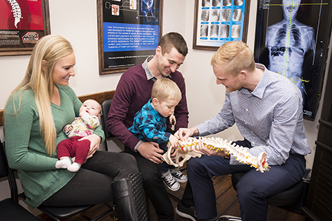 Family healthcare at Thrive Family Chiropractic in Urbandale