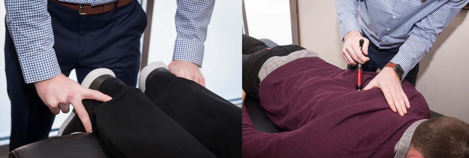 the Activator method at Thrive Family Chiropractic in Urbandale