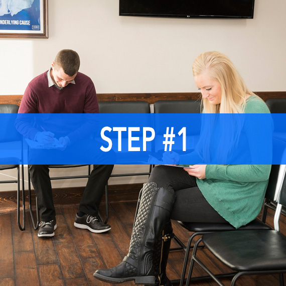 new practice member application at Thrive Family Chiropractic in Urbandale