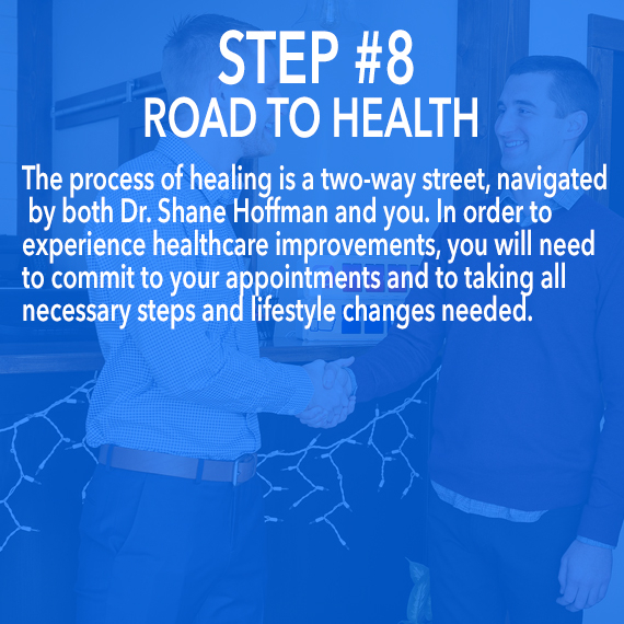 the road to health at Thrive Family Chiropractic in Urbandale